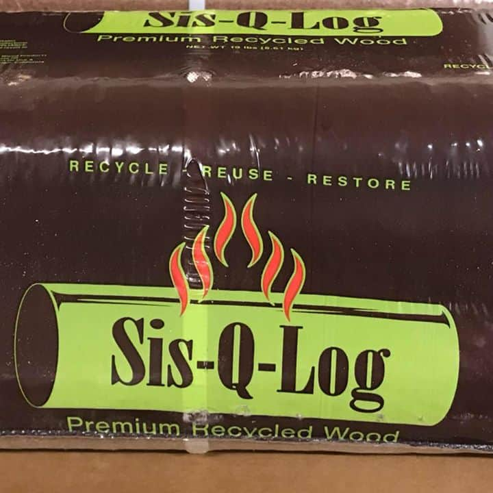 Pressed Log Fuel