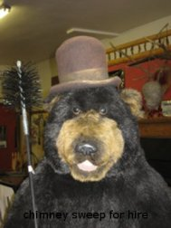 Smokey Bear @ Smokey's Stoves